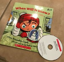 When Will It Snow Children's Book Lisa Broadie Cook with Audio CD