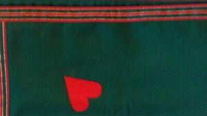 Simon Lucas Green Baize Bridge Table Cloth Executive Connoisseur Collection