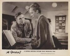 "Scene from ""Question 7"" 1961 Vintage Movie Still"
