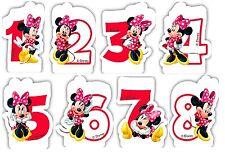 Café Disney Minnie Souris Bougie D'anniversaire 8e