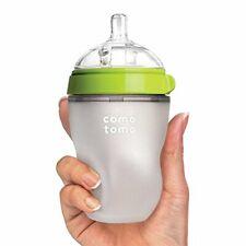 Comotomo Baby Bottle, Green, 8 Ounce/250ml