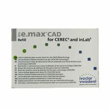 IVOCLAR VIVADENT IPS E.MAX CAD CEREC MT A1 / C14 5 BLOCKS EMAX 680028