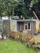insulated garden room / office / studio