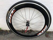 50mm Carbon 700c Rear Road Bike Wheel  Zipp 404 Decals