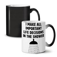 Life Decisions Joke NEW Colour Changing Tea Coffee Mug 11 oz | Wellcoda