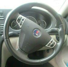 Saab 9-3 1.9 TDi 2006 Estate Multifunction Steering Wheel & A-bag Genuine