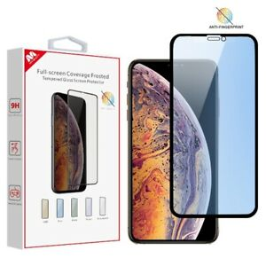 Apple iPhone 11 /Pro /Max /XR /XS Max Full Cover Screen Protector Tempered Glass