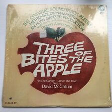 THREE BITES OF THE APPLE LP RARE SEALED David McCallum Original Soundtrack