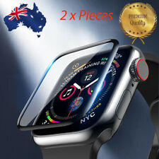 *NEW* 3D HD Tempered Glass Screen protector Apple Watch Series 3 4 5 (2 pieces)