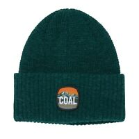 Coal Headwear THE TUMALO Unisex 100% Acrylic Cuffed Beanie H. Forest Green NEW