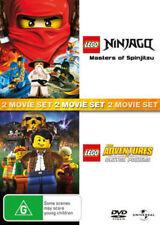 LEGO NINJAGO :MASTERS OF SPINJITZU / CLUTCH POWERS  DVD -UK Compatible - Sealed