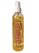 Black Queen Carrot Oil Sheen Spray alcohol free for human and synthetic hair 8oz