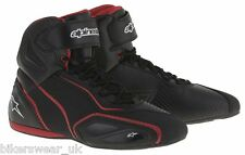Alpinestars FASTER 2 Blk/Red Vented Motorcycle Riding Shoe Boots US Sizes *SALE*