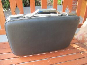 VINTAGE AMERICAN TOURISTER  HARDSHELL BRIEFCASE ATTACHÉ GREY