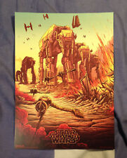 Star Wars The Last Jedi IMAX poster Exclusive promo poster Week 2. New. Genuine.