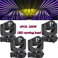 230w 7R Osram Moving Head Stage Light 16 Prism DMX16ch Beam Zoom DJ Show 4PCS