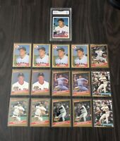 Big Roger Clemens Card Collection With High Graded Rookie