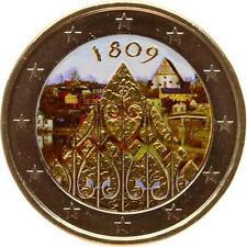 A2924 2 Euros Commemo 2009 200 ans 1809 Colorful Colorisé FDC UNC! ->Faire offre