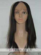 Natural Straight Remy Hair Lace Front U Part Wig Party Wigs