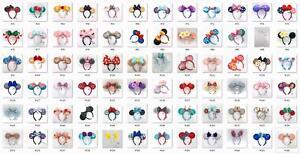 2021 Ariel Ears Disney Park Belle Headband Space Mountain Tinker Bell Lollipop