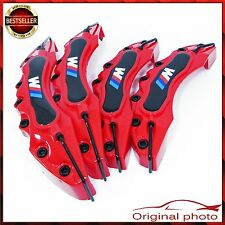 Red BMW M POWER M LINE Brake Caliper Cover Universal Disc Racing Front Rear NEW