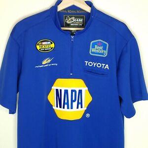 Chase Authentics Medium Michael Waltrip 55 Short Sleeve Racing Shirt