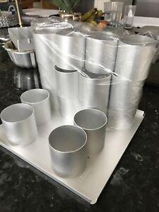 """""""Bake-Off"""" Cake Rings / Pan Set With Baking Tray. Silverwood Of Birmingham."""