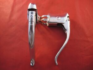 WEINMANN BRAKE LEVERS WITH UNUSUAL QUICK RELEASE - 1960s / 70s - BRIGHT POLISHED