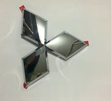 Front grille emblem badge mark chrome logo Genuine Mitsubishi L200 Pajero Triton