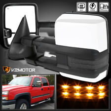 2003-2007 Silverado Sierra LED Smoke Signal POWER+HEATED Towing Side Mirrors
