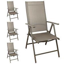 Hochlehner 7-Pos verstellbar Gartenstuhl Positionsstuhl Klappstuhl Champ 4er Set