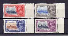 BERMUDA 1935 SILVER JUBILEE MARGINAL SET ( 4 ) MNH CAT £23