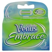 3 Gillette Venus Embrace Rasierklingen Klingen original Verpackt