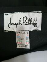 Joseph Ribkoff Black and Grey Size 14 Fitted Dress - Party or special occasion