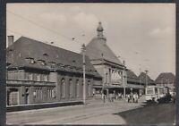43902) Echt Foto AK Görlitz Hauptbahnhof 1959