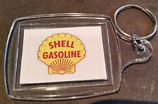 ''SHELL LOGO'' KEY RING ADVERTISING PROMO PETROL OIL SERVICE STATION FUEL GAS