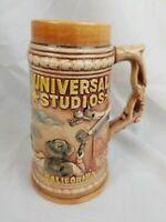 Vintage Universal Studios Indiana Jones Collapsing Bridge Stein Mug