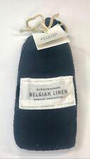 Restoration Hardware Stonewashed Belgian Linen King Sham (1) Indigo NEW $119