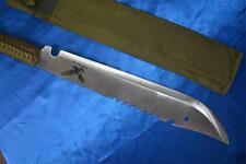 Sharp Brand New Ninja Black Eagle Machete 50cm x 34cm