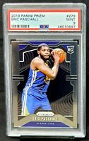 2019 Prizm Warriors RC Star ERIC PASCHALL Rookie Basketball Card PSA 9 MINT