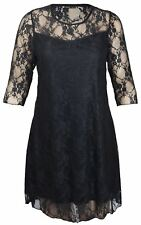 Polyester 3/4 Sleeve Plus Size Party Dresses for Women