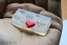 3D Acrylic Nail Art Mold Heart Shape Nail Mould DIY Manicure Decoration-5