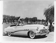 1951 Buick Model 56C Super Convertible by River, Factory Photo (Ref. # 28401)