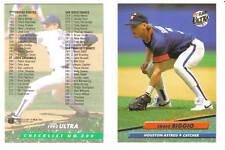 1992 Fleer Ultra Baseball 92 Series 1 Set 1-300