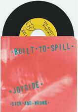 "Built to Spill ""Joyride"" 7"" OOP Modest Mouse The Treepeople Death Cab For Cutie"