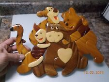 Winnie The Pooh & Friends Child's Room Wooden Wall Plaque + Bonus