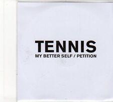 (FD132) Tennis, My Better Self / Petition  - DJ CD