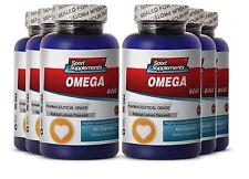 Triple Omega - Fish Oil Omega-3-6-9 3000mg - EPA Important Fatty Acid 6B
