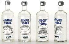 Doll House Accessories 1:12th Miniature  - 2 bottles of Vodka