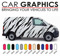 VW Transporter car graphics tiger stripes decals stickers vinyl